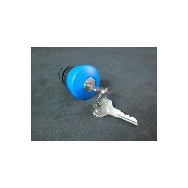 ALLEN BRADLEY 800E-MK6 Illuminated Push Button Key Control Switch