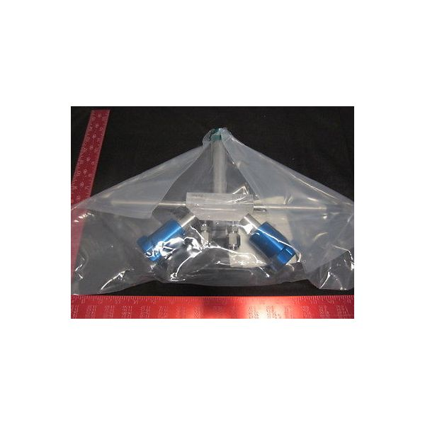 UHP DVT5041110804-10 47092-7A PARKER VALVE DUPLEX VERTICAL TEE 1 MAIN X 1/2