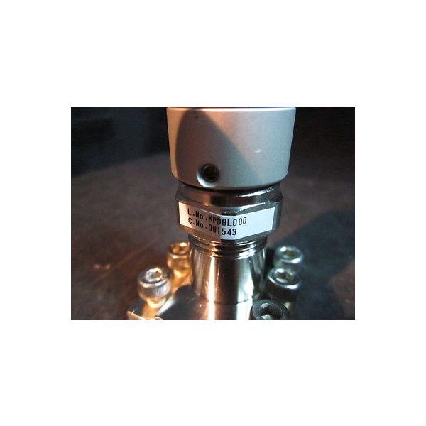 Fujikin 091543 Pneumatic Diaphragm valve; O.P. 0.39-0.59 MPa Type N.C.  ***This