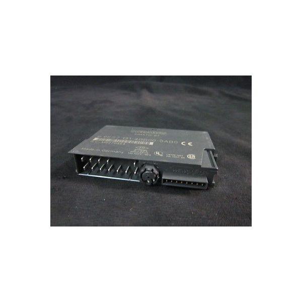 SIEMENS 6ES7 131-4BB00-0AB0 MODULE, 24VDC 2PT DIGITAL INPUT
