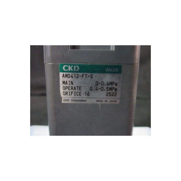CKD AMD412-FT-S VALVE, RESIN, 0-04MPa, 0.4-0.5MPa