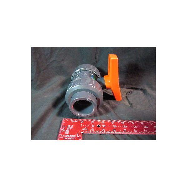 NAIGAI TECH BVSV-40 VALVE PVC, Ball, BVSV-40 TYPE-B 40-1 1/2 10K 20c 150PSI. 73F