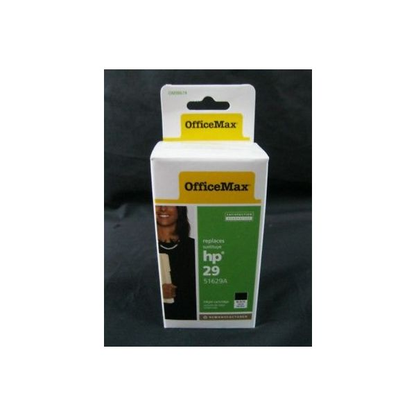 OFFICEMAX 51629A (02) OFFICE MAX OM98674 INK CARTRIDGE HP 29 USED TO REPLACE DES
