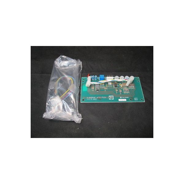 KB ELECTRONICS SC-8803 BOARD, 4 QUADRANT ACCEL/DECEL, PENTA POWER