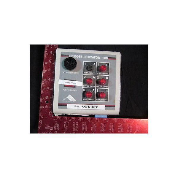 TRITEC INDUSTRIES 030-01381-used Indicator REMOTE-600 (TRITEC)