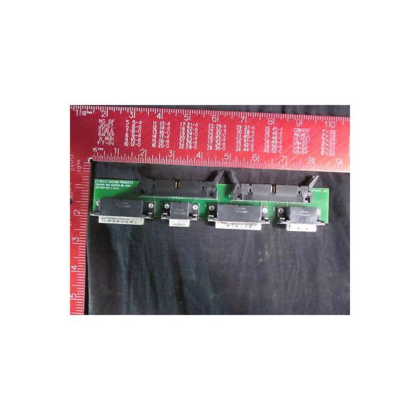 LEYBOLD 2076931 Electrical Control Box Adapter Board Assembly