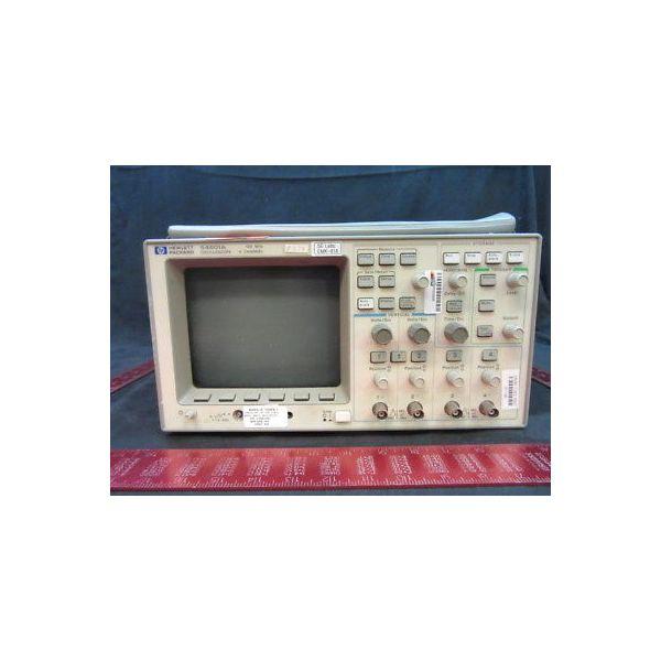 Agilent HP Keysight 54601A OSCILLOSCOPE 100 MHz, 4-CHANNEL, SERIAL NUMBER 3106AG