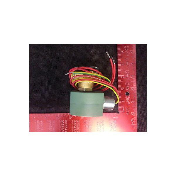 Applied Materials (AMAT) 3870-01011 VALVE Solenoid Brass, 1/4 IN 2 WAY NC, 120VA
