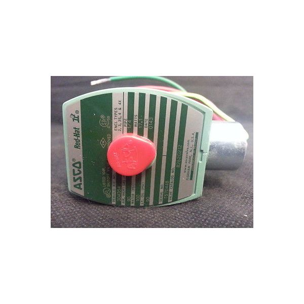 AMAT 3870-01011 VALVE Solenoid Brass, 1/4 IN 2 WAY NC, 120VAC,
