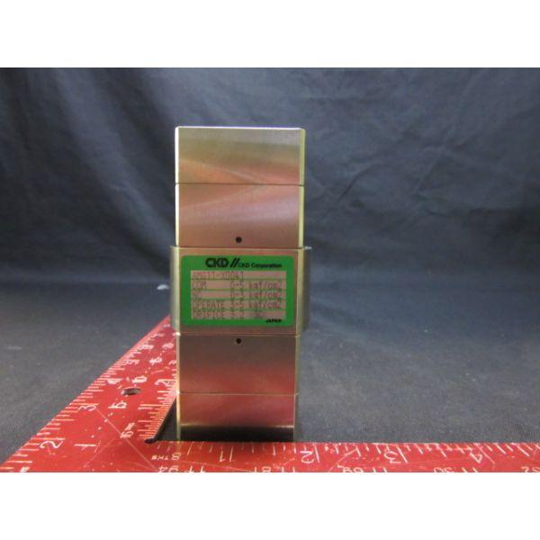 CKD CORPORATION AMG11-X0041 3 WAY VALVE COM: 0-5 kgf/cm2 NC: 0-3 kgf/cm2 OPERATE: 3-5 kgf/cm2 ORIFICE: 3.23C