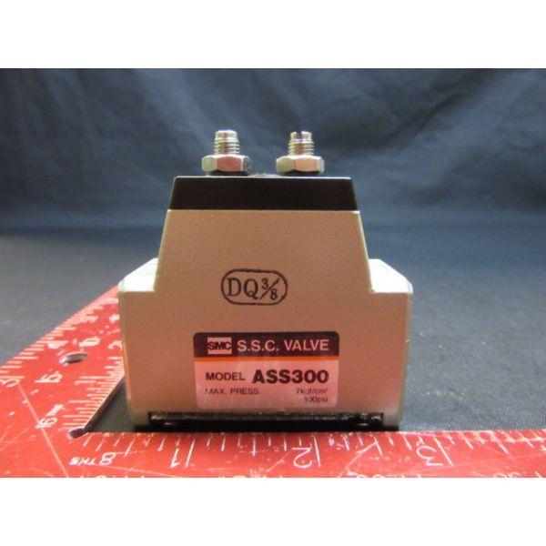 SMC  ASS300 S.S.C. VALVE 3/8 MAX PRESS 7kgf/cm 100psi
