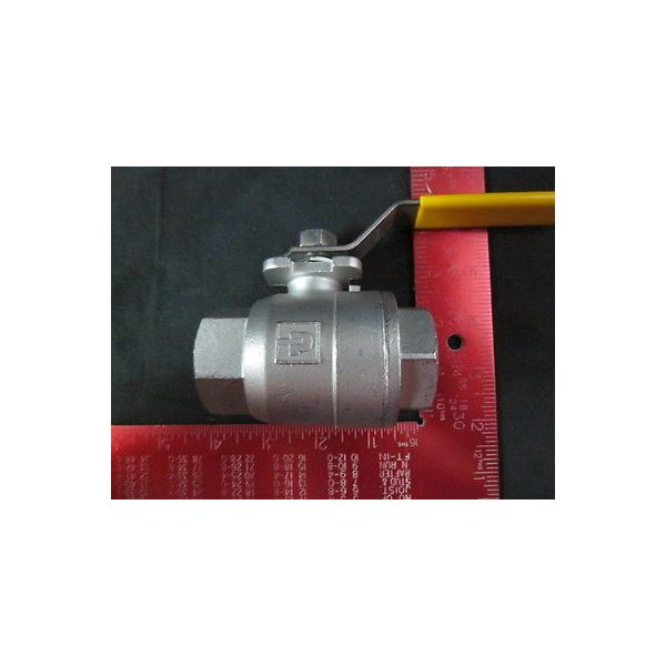 AMAT 3870-02442 2-Way Ball Valve, 1.00NPT-F/F 1.00 Flow, 1""