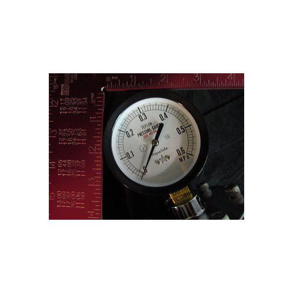 KURITA WATER 75MM 0-0.6MPA SUS PTFE PRESSURE GAUGE75MM 0-0.6MPA SUS PTFE; DIAPHR