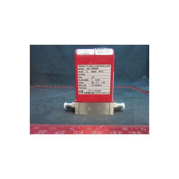 Applied Materials (AMAT) 3030-04811 SEC-4400MC-He-3SLM, STEC INC