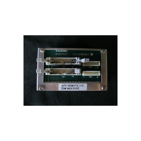 TAZMO 810275601 AP3 REMOTE I/O (SW.INDEXER)