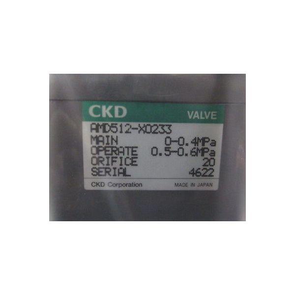 CKD AMD512-X0233 VALVE Teflon, AIR OPERATE