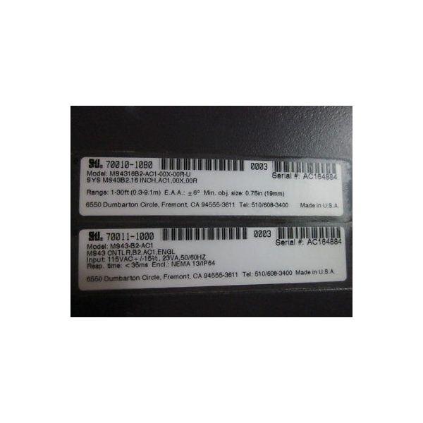 SCIENTIFIC TECHNOLOGIES INC 70010-1080 POWER SUPPLY LIGHT CURTAIN MODEL #MS4316B