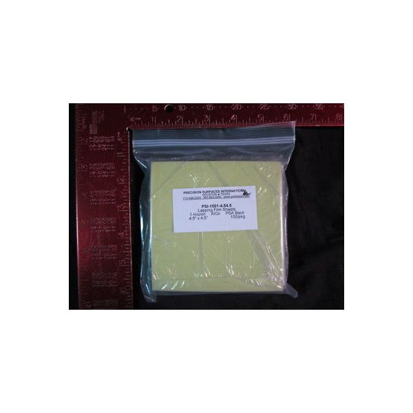 PRECISION SURFACES INTERNATIONAL PSI--1501-4.54.5 LAP FILM SHEETS (GREEN) 1 MICR