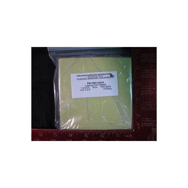 PRECISION SURFACES INTERNATIONAL PSI--1501-4.54.5 LAP FILM SHEETS (GREEN) 1 MICR