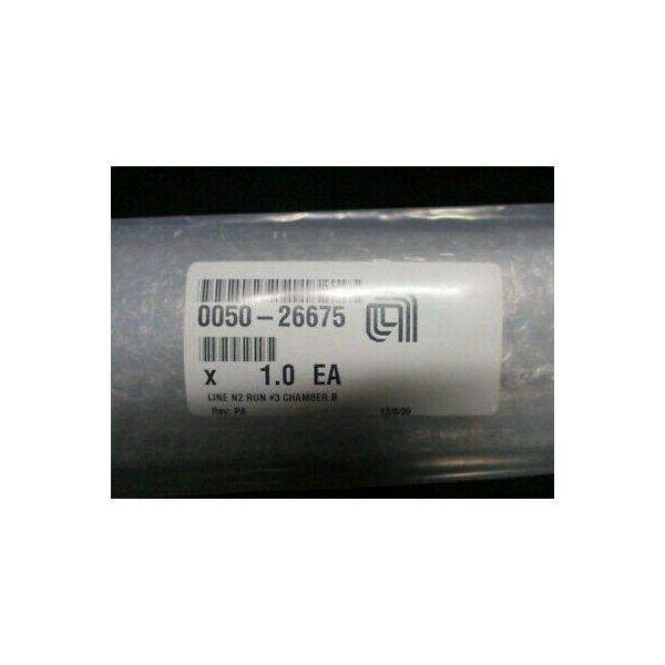 Applied Materials (AMAT) 0050-26675   WELDMENT, LINE N2 RUN #3 CHAMBER B