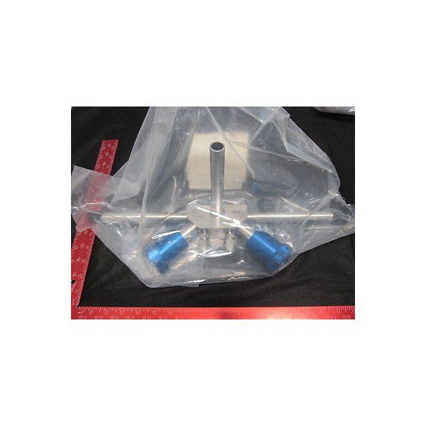 UHP DHT504M10606-10 46599-1A PARKER VALVE SS BW DUPLEX HORIZONTAL 3/4 MAIN X