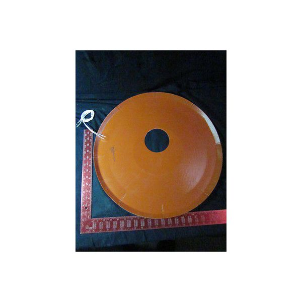 "Technical Heaters Inc 400883-001 Heater, Blanket 20 1/2"" Diameter, 4"" Opening"