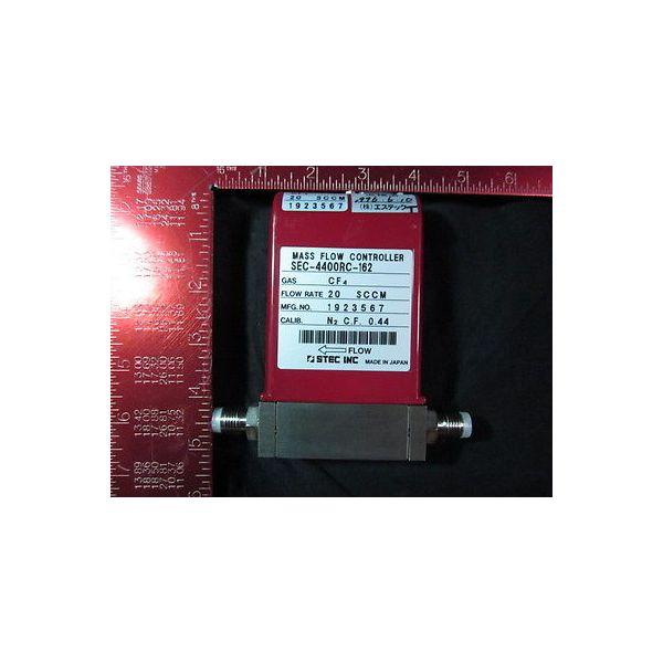 STEC SEC-4400RC-162-20SCCM-CF4 Mass Flow Controller; Gas: CF4, Flow Rate: 20SCCM