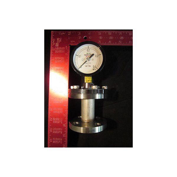 KURITA WATER 75 0-0.4MPASUS316 15AFF PRESSURE GAUGE 75MM 0-0.4MPASUS316 15AFF; D