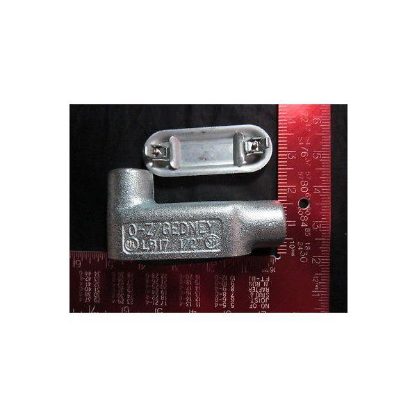 COOPER TURBOCOMPRESSOR P0540067-00249 CONDUIT FITTING ELBOW