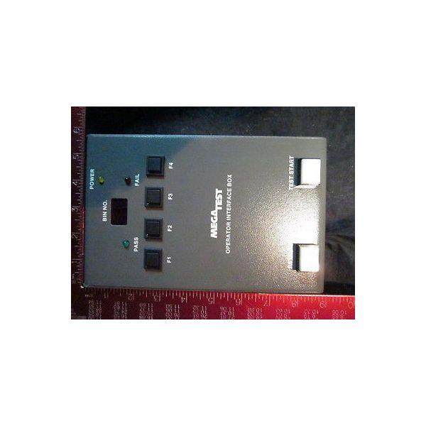 Mega Test 113131 Controller, Operator Interface Box