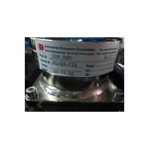INTEGRATED DYNAMICS ENGINEERING 328.000 Active Passive Vibration Module