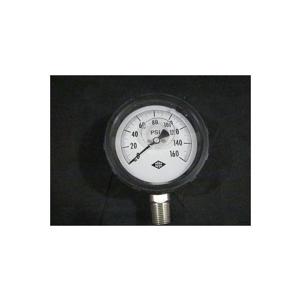 MEGO AFEK 501484053 GAUGE PRES.0-160 PSI 4  1/2 NPT SS GLYC