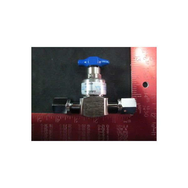 Applied Materials (AMAT) 3870-03028 High Pressure Valve 1/4 FVCR, Max Inlet: 350