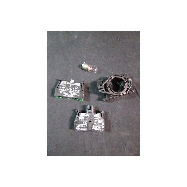 ALLEN BRADLEY 800E-3DL3X10 24 VDC POWER MODULE WITH LATCH, 800E-3D0, Ui=250V, 12
