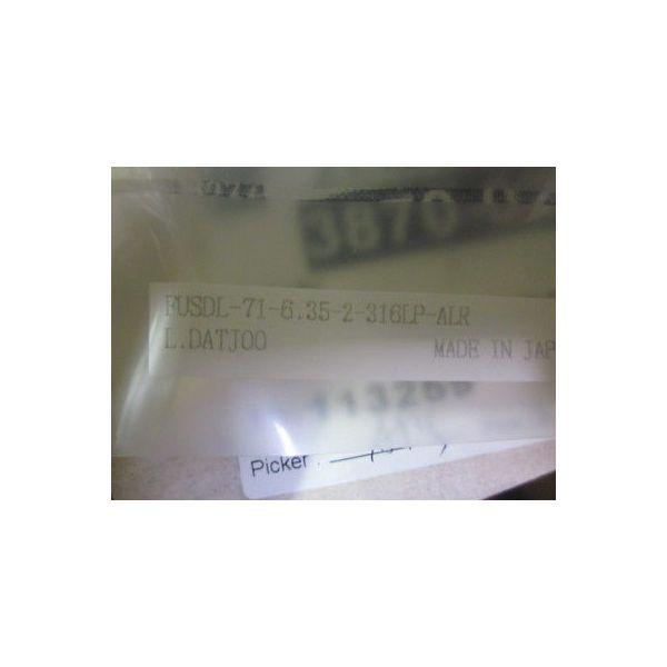 AMAT 3870-02317 VALVE MNL DIAPH 1/4VCR-F/F 1/4TURN-HDL SST LS TYPE