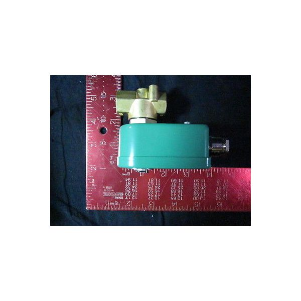 ASCO E263B206-LT 2-WAY DIRECT ACTING SOLENOID VALVE, NORMALLY CLOSED OPERATION,