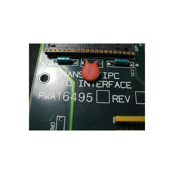 BRANSON PWA1649501 PCB, I/O UBTERFACE