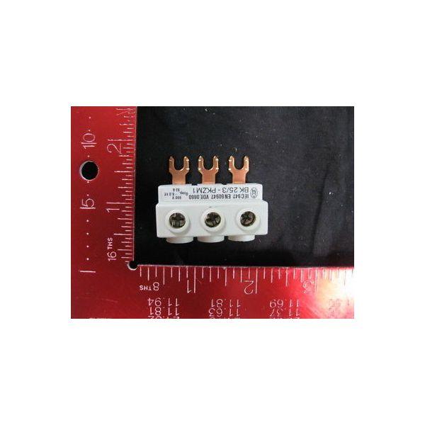 KLOCKNER-MOELLER BK-25-3-PKZM1 MOTOR CONNECT BLOCK; BK 25/3-PKZM1