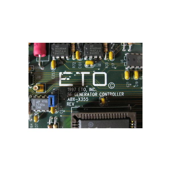 Applied Materials (AMAT) 0190-02977 ASTEX ABX-X355 RF GENERATOR CONTROLLER, ETO
