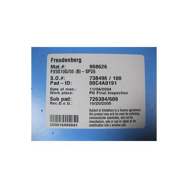 FREUDENBERG FX9S10G/55 FREUDENBERG POLISHING PAD (OXIDE); MAT. #: 908626, FX9S10