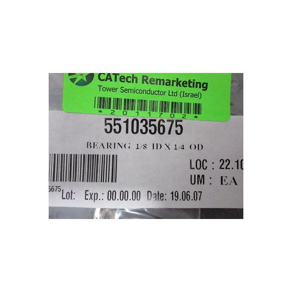 ASML 551035675 BEARING  1/8  ID X 1/4  OD