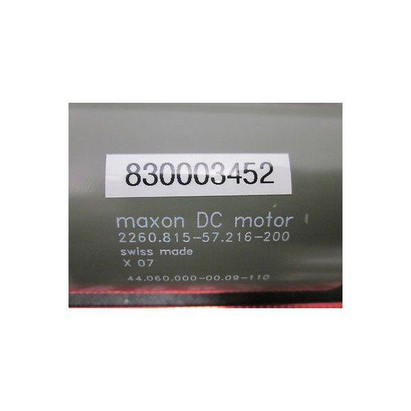 ASM 830003452 MAXON MOTOR F2260+GEAR GP62 35:1+TACHO