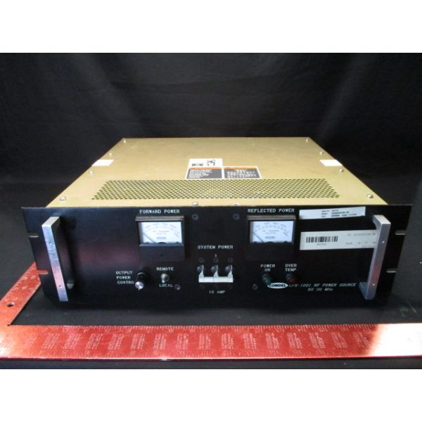 Comdel CPS-1001/60 RF POWER SOURCE 60.00 MHz 208VAC 3 PHASEGENERATOR