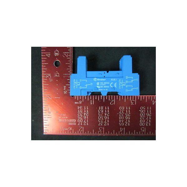 FINDER 95.85.1 Relay Socket, 12A, 300VAC, 10A, 300VAC