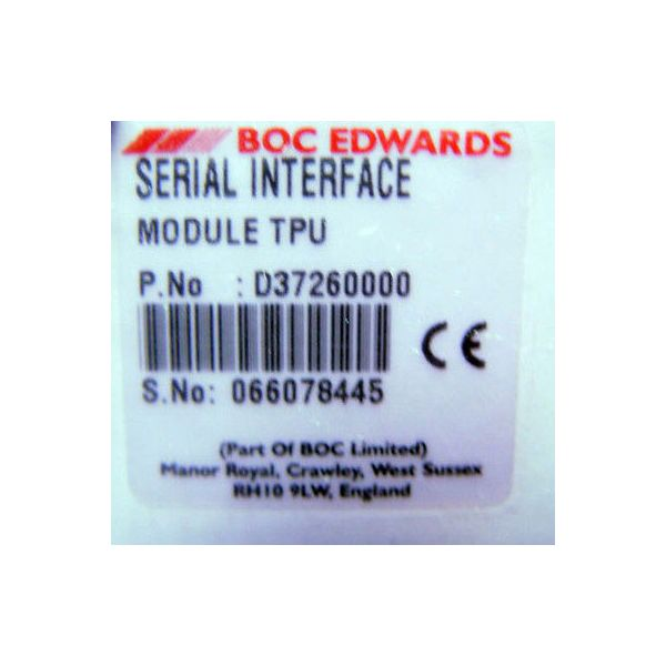 BOC SERIAL INTERFACE MODULE MODULE TPU, IQ CMS; D372-60-000