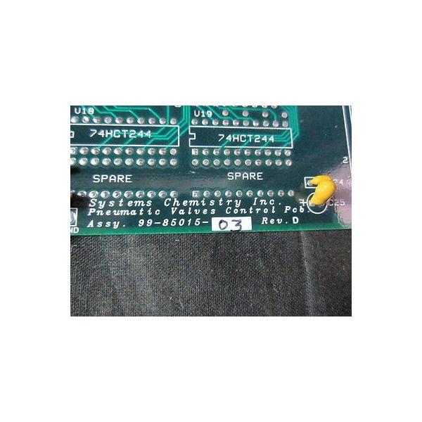 SYSTEMS CHEMISTRY 99-85015-03 PNEUMATIC BOARD OCP