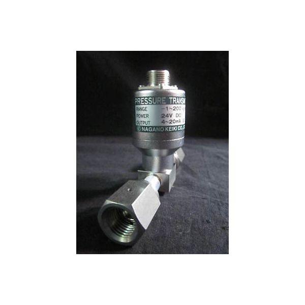 NAGANO KEIKI ZT15 PRESSURE TRANSMITTER, RANGE -1-200 KGF/CM2, POWER 24V DC, OUTP