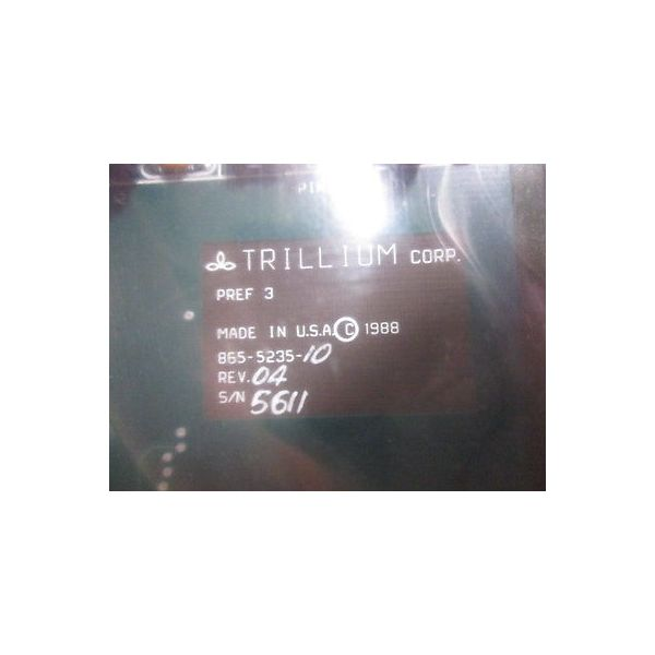 TRILLIUM 865-5235-10 TRILLIUM  PREF3