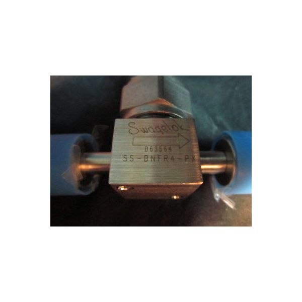 """SWAGELOK SS-BNFR4-PX Valve 1/4\"""" 316L SS HIGH-PURITY BELLOWS-SEALED VALVE"""