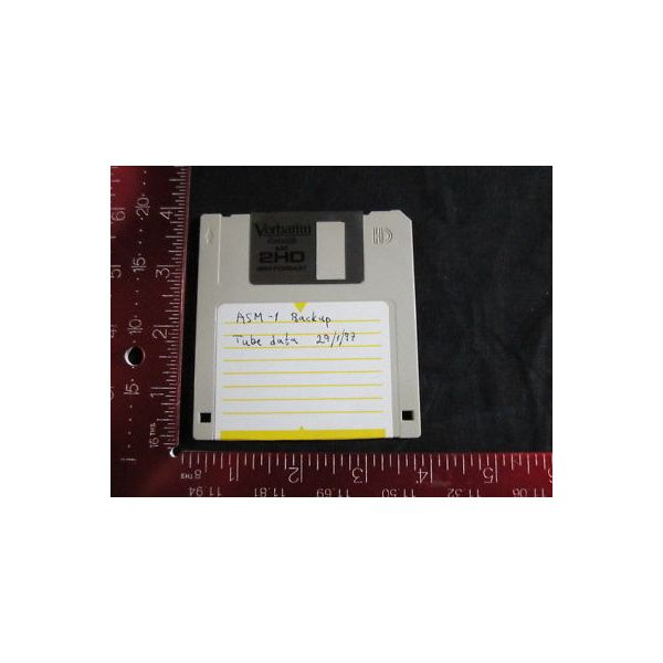 ASM 551656198 SOFTWARE  BACK-UP SYSTEM & TUBE DATA